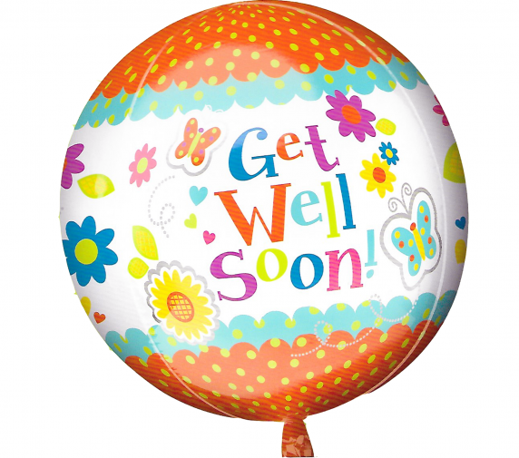 Orange Get well soon