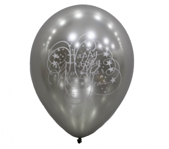 Happy Birthday (Gray Balloon)