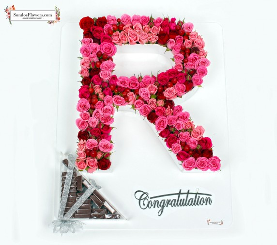 Roses & Letters (Congrats 4)